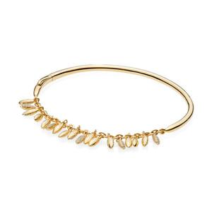 NUEVO 100% 925 de alta calidad de 567715CZ BRILLO FLOTANTE regalo de la joyería GRANOS BRAZALETE apta DIY del encanto de las mujeres de moda original