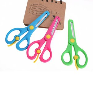 Children kids Safety Plastic Scissors Cute Learning Education Toys Arts Crafts Tools