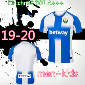 Hommes + enfants 2019 2020 maillots de football Leganes CARRILLO Domicile Extérieur 19 20 J. SILVA FR-NESYRI SANTOS EL Zhar Juanfran DANI chemise OJEDA de football