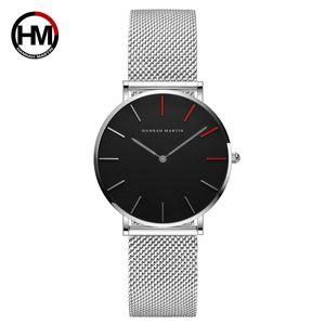 Lady Women Watch Moda Quartz Pu Watchband simples casual data impermeável relógio de pulso presente para a menina / mulher / mulheres