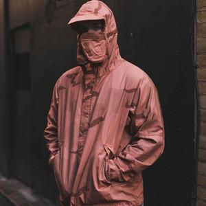 Marke Riot Mask Camo Jacke für Männer Frauen Leichte Windjacke Anorak mit Kapuze Jacke Tactical Berg Oberbekleidung Straße Outdoor-Outfit