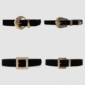 Girlgo Vintage Metal Gold Belts Belts & Accessories Color Buckle Belt for Women Punk Fashion Geometric Belly Chain Dress Accessories Jewelry