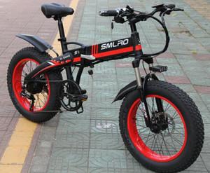 S9F venta caliente eléctrica de la bici de 20 pulgadas 750W / 1000W 10AH motor de la batería plegable bicicleta eléctrica
