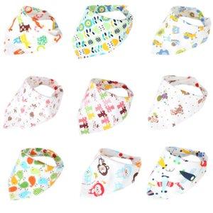 Emmababy 1pcs Kinder Säuglingsernährung Kopftuch Handtuch Lätzchen Jungen-Mädchen Bandana Saliva Dreieck Dribble Newborn Dreieck-Kopf-Schal