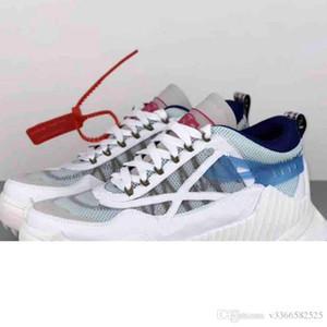 2020 Off White SB New Hot Off en noir et blanc OD SY-1000 Flèche forte passerelle de mode flèche couleur couture fond d'angle respirant chaussures à plate-forme