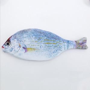 Kreative Fisch-Form-Bleistift-Kasten - nette Kinder-Kind-Tuch Bleistifte Taschen Schulbedarf Stationery Hot Pen Box Geschenk