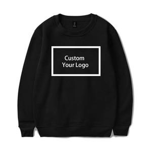 WAMNI personalizado pôsteres Hoodies de vestuário capuz Algodão Hoodies Unisex DIY Streetwear Drop Shipping