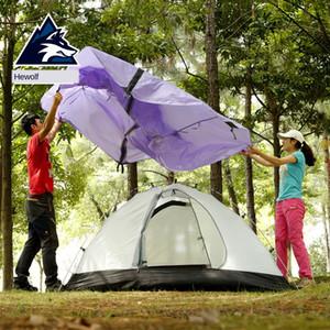 Tenda professionale Doppia Outdoor Double Layer tenda da campo Camping Equipment Four Season Rainstorm Camping