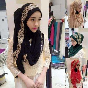 Fashion Womens Muslim Long Scarf Hijab Islamic Shawls Headwear Arab Shayla Headwear New