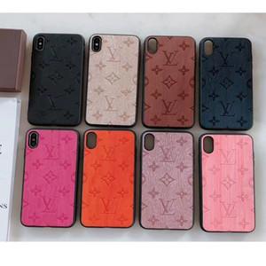 """Monograma clássico case para iphone 11 5.8 """"6.1"""" 6.5 """"designer phone case para huawei p30 pro corpo inteiro tampa traseira para samsung s8 / 9/10"""