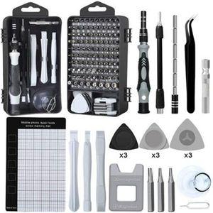 Practical Phone Repair Tools Kit Screwdriver Set Precision 122 In 1 Magnetic Torx Hex Bit Screw Driver Bits Insulated Multitools