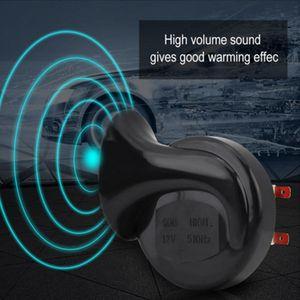 2pieces 12V 135 dB per auto camion forte Dual Tone lumaca elettrica Air Horn Siren universale