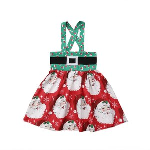 Fiesta de Estados Unidos recién nacido Niño Faldas Falda del bebé Niños ropa de los niños de los bebés de Navidad sin mangas del tutú Faldas Ropa