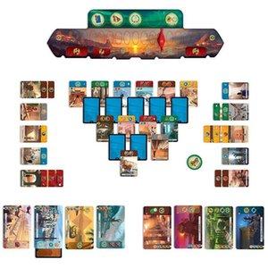 Heiße Verkaufs-Erweiterung 7 Wonders Duel 2 Spieler Strategy Board-Karte Englisch Version Spiel MX200414