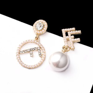 popular earrings for woman girl lady pearl beads design
