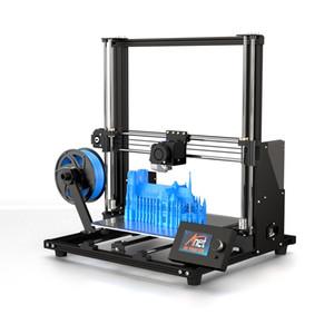 Nueva Anet A8 Plus Kit de actualización de la impresora 3D más el tamaño 300 * 300 * 350 mm de alta precisión de la impresora de escritorio de metal 3D DIY Impresora