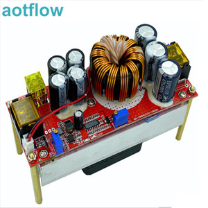 DC DC Voltage Converter CV Boost Converter Step Up Adjustable Module Power Supply 1800W 40A DC-DC 10V -60V to 12V-90V Regulator