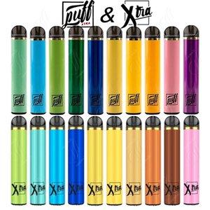 Newest PUFF XTRA & XTRA Disposable Vape Pen 1500Puffs Pre-filled 5.0ml Cartridges Starter Kit Bars Plus Device System Vaporizers Pods Vapor