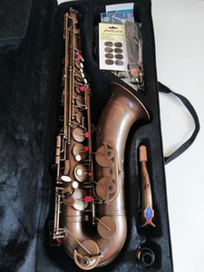 사용자 지정 표시 VI 색소폰 높은 품질 테너 색소폰 95 % 복사 악기 골동품 구리 시뮬레이션 황동 색소폰 케이스
