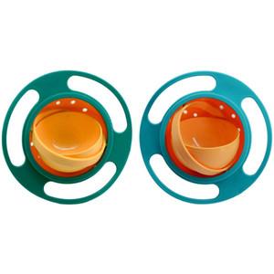 Magic Gyro Bowl Baby Kids gyroscopique à 360 degrés fait pivoter le bol anti-éclaboussures