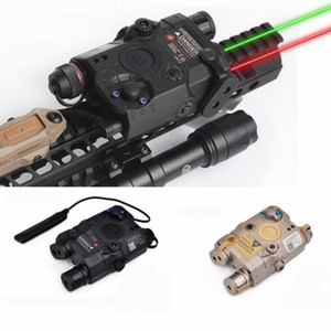 2019 New Element Airsoft LA PEQ-15 LA-5C AN PEQ UHP Appearance Green and Red Laser and flashlight Airsoft Laser