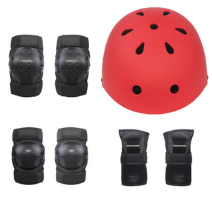 7 Pieces Roller Skating Protective Gear for Kid High Quality TPR Skating Protector Wholesale Price Roller Skating Equipment
