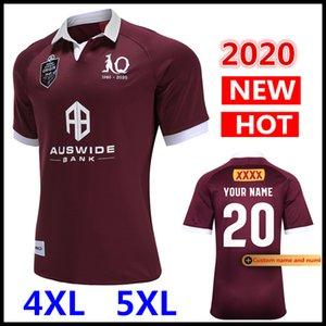nouveau nouveau 2020 Rugby Jersey Australie Maroons QLD Maroons de rugby Jersey Holden STATEOF ORIGIN League chemise Le nom et le numéro