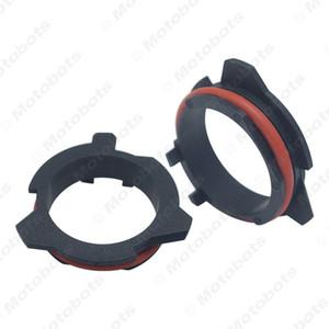 2x Адаптер для фиксатора фары для автомобиля BMW 5 серии E39-2 Benz SLK Car H7 Светодиодный держатель колпачка для лампы накаливания # 5936