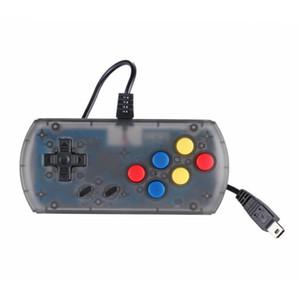 Mango con cable Mini Retro Gamepad de mano consola de control para poder Retro Gamepad Mini-Rs 6a clásico jugador del juego de Dropshipping