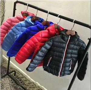 bambini di marca di alta qualità di inverno outwear bambini al minuto di inverno Piumini bambino giù ricopre Capispalla Ragazzi ispessimento dettaglio 4-10T