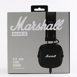 Marshall Major III 3.0 Cuffie Bluetooth Cuffie DJ Cuffie con isolamento acustico per bassi profondi Auricolare Major III 3.0 Bluetooth Wireless