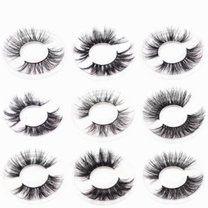 Volume Soft Mink eyelashes 10 pairs of handmade 3d mink lashes natural eyelashes extended beauty makeup Fashion false