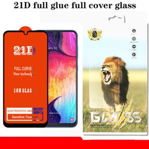 Film de protection d'écran avec film de verre trempé transparent pour écran de protection pour Samsung A40S A6S A8S A9S J2 J4 Core A9 Pro