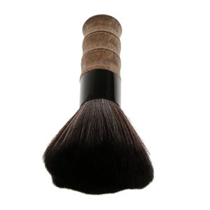 Premium High Quality Synthetic Hair Facial Makeup Tool, Barber Hair Cutting Dust Cleaner Shaving Brush