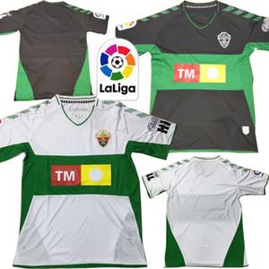 2019 2020 CF Elche Football Maillots Lolo Ivan Sanchez S. Dani Calvo Ramon Kaba Folch Ferriz personnalisé 19 20 Domicile Extérieur Football shirt