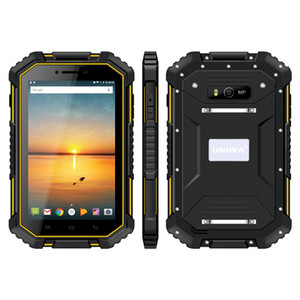 UNIWA HV2 IP67 Waterproof NFC 4G Rugged Tablet PC 7 Inch MTK8732 Quad Core 2GB RAM 16GB ROM android 4.4 super smart tablet pc