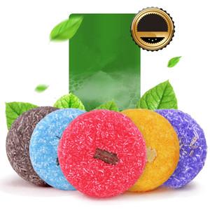 Handmade Hair Shampoo Sabão Frio Processado Cinnamon Shampoo Bar 100% Puro Shampoos Cabelo Cuidado Cuidado Cosmético Ferramentas RRA1109