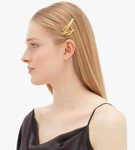 Oro de 18 quilates chapado en latón barroco ALACIADOR clips de lujo Mujeres Accesorios para el cabello joyería del envío gratis