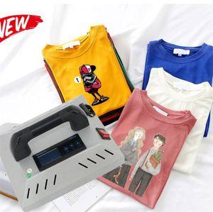 En iyi gömlek ısı basın makinesi CH1914 6 * 8 inç Hobi HTV'ler için t-shirt Ev ısı transferi basın ve ütüyle DHL ücretsiz