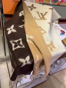 Fashion0799 is selling 2020L-V women's winter boutique scarves with 100% cashmere knitted new craft, soft and smooth size of 190*60CM