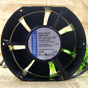Allemagne EBM papst 6424 / 2hp 24v 30W 12-28v ABB convertisseur de fréquence ventilateur étanche