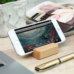 Faggio supporto per telefono cellulare in legno leggero Slim disegno del supporto del telefono mobile del basamento per il telefono mobile Tutto