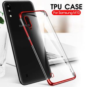 Un PCS logiciel Samsung Galaxy Case système Silicon TP A10 A30 A50 M10 M20 M30 Téléphone Shell Shell Shell super mince