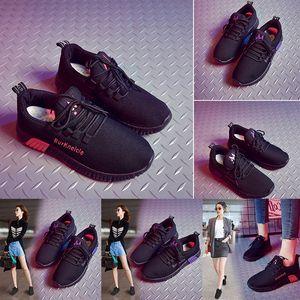 wholesale platform women running shoes triple black red purple mesh breathable comfortable sport designer trainers sneakers size 35-40