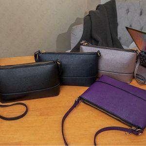 KS Women Bag PU Leather Trendy Fanny Packs Ladies Zipper Cross Body Messenger Bags Luxury Night Party Purse Handbags boutique 4color D7302