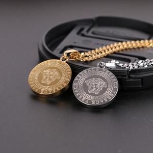 Herren Edelstahl Halskette Männer Frauen Mode Anhänger Halsketten Hip Hop Hiphop Schmuck Designer Luxus Anhänger Mann Geschenk