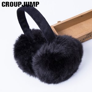 Mode Pelz Earmuffs für Frauen Marke Winter-Earmuffs Warm-Pelz-Ohr-Wärmer Ohr-Abdeckung für Mädchen Solid Color