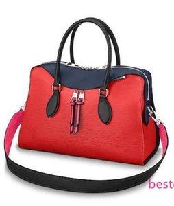 M53544 Tuileries Women Water Ripple Fashion Red Handbag Shoulder Bags Hobo Handbags Top Handles Boston Cross Body Messenger Shoulder