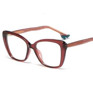 2021 Новые модные милые сексуальные фиолетовые туфли на высоком каблуке очки рама странные дизайнерские очки кадры прозрачные оптические очки