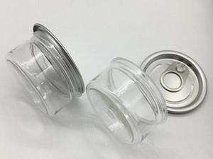 100 ml 3.5G plastique pot d'étain cigarette Cans pré Sealed d'étanchéité couverture du couvercle pour Dry Herb Fleurs Pressé Conception sur mesure OEM